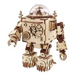 ROBOTIME ORPHEUS MUSIC BOX 3D Ξύλινο Μηχανικό Puzzle