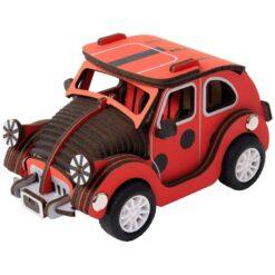ROBOTIME Inertia Power Vehicles LADYBUG CAR HL301