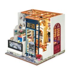 ROBOTIME DIY Nancy's Bake Shop DG143 Happy Corner DIY Miniature House